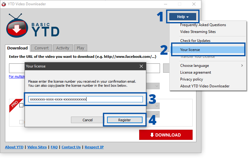Youtube Downloader Instructions Pro Ytd Downloader