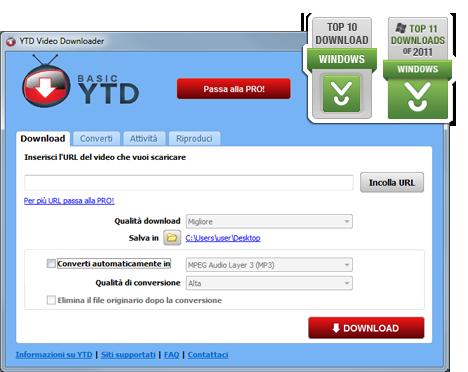 siti poro convertitore formati video